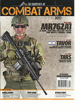 GUNS & AMMO COMBAT ARMS, 2013 ( SIG SALLER M11-A1 * FIRST LOOK MR 762 A1  )