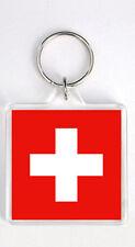 SWITZERLAND FLAG KEYRING SOUVENIR LLAVERO