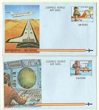 España Aviones Aerogramas del año 1984 (CH-733)