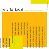 Jets to Brazil - Orange Rhyming Dictionary [New Vinyl LP] 180 Gram
