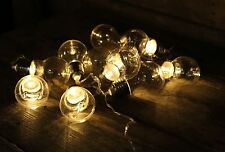 10 Bulb Style Battery Operated Led Fairy Chain Christmas Festive Party Lights