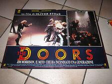 FOTOBUSTA THE DOORS OLIVER STONE VAL KILMER MEG RYAN  MUSICALE JIM MORRISON