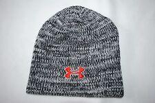 New Under Armour UA Men's Knit Beanie Gray Melange Cap Hat Japan One Size