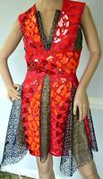 $9,000 Peter Pilotto Phoenicia Embellished Embroidered Dress IT 42 / US 6 /UK 10