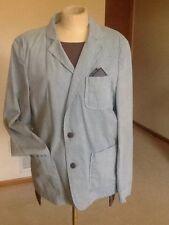 Men's blazer,Blue,M,Cotton,Two buttons,Zara,Solid,NEW
