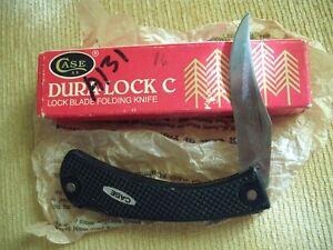 CASE DURA-LOCK C KNIFE IN BOX NEVER USED 1983