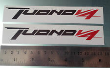 TuonoV4 Stickers / Decals for Aprilia Tuono V4 Fairing Sides (PAIR) (ANY COLOUR)