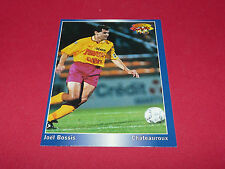JOEL BOSSIS FC MARTIGUES CHATEAUROUX  PANINI FOOTBALL CARD 1994-1995