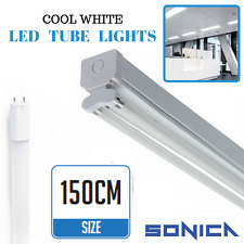 5FT Fluorescent Light Fittings T8 LED Tube Light Twin Batten 5ft 150cm Retrofit