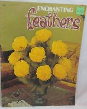 Vintage Enchanting Feathers - Flowers and Arrangements Patterns