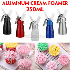 250ml Household Whipped Cream Dispenser Attachments Included Decorating Nozzles