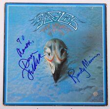 GFA Eagles * DON FELDER & RANDY MEISNER * Signed Vinyl Record Album AD1 COA