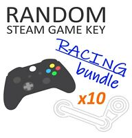 RACING Game Bundle [x10 Random Steam Key] + BONUS!!! - PC Region-Free GLOBAL