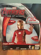 Marvel Avengers Age of Ultron Iron Man Costume (Kids Size 8-10)