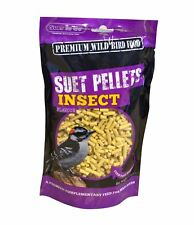 Suet to go Suet Pellets + Insects 6 Bags of 550g Each Wild Bird Feed Treats