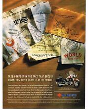 1999 SUZUKI Intruder 1500LC Motorcycle Vtg Print Ad