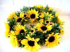 Sonnenblume Sonnenblumenkranz Türkranz Herbst Kranz Dekokranz DEKO 35cm