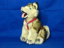 Alaskan Siberian Husky Kipmik Sled Dog 12� Sitting w/ Harness Plush