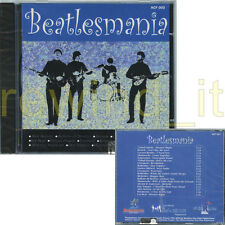 "THE BEATLES AA.VV. ""BEATLESMANIA"" RARE CD ITALY - ALEX BARONI BALLETTO DI BRONZO"