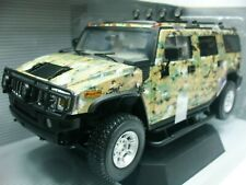 WOW EXTREMELY RARE Hummer H2 Outdoor Camo 4WD 6.0L V8 2005 1:18 Highway 61