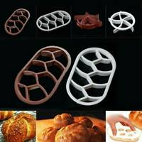 Bread Mold Plastic Dough Pastry Cutter Cookie Biscuit Press Mould