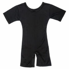Boys Mens Body Armour Compression Baselayers Thermal Sports Top Short One Piece