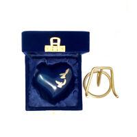 Dove Memorial Urns, Flying Doves Mini Heart Keepsake Urn for Cremain Ashes