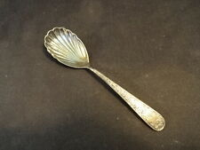 Old Vtg Sterling Silver S Kirk & Sons 12/25/59 Decorative Spoon Initials Egs