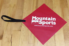 Long Load Travel Red Safety Flag for Kayaks, Canoes & SUP's 12' x 12""