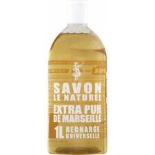 Savon de Marseille Extra Pure le Naturel 1000ml Pack de Recharge