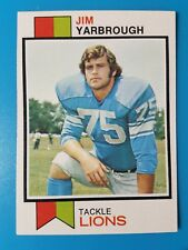 1973 TOPPS FOOTBALL  #423 JIM YARBROUGH NM++