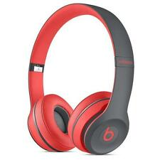 Apple Beats Dr. Dre Solo 2 Solo2 WIRELESS Bluetooth On-Ear Headphone Siren Red