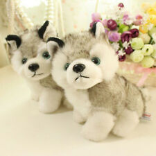"18cm 7"" Plush Doll Soft Toy Husky Dog Baby Kids Cute Stuffed Toys Gift GY"