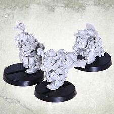 Dvergr Commando Medic Team Squat Space Dwarf Dwarves Kromlech Resin