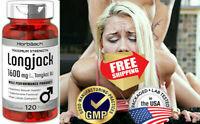 Longjack Tongkat Ali 1600 mg | 120 Capsules | Longifolia Root Extract Powder