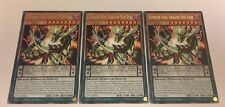 3 x RARE - Supreme King Dragon Odd-Eyes - 1st Edition COTD-EN015 YuGiOh NEW