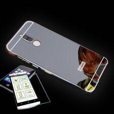 Alu Bumper 2 teilig Schwarz + 0,3 H9 Hartglas für Huawei Mate 10 Lite Tasche