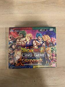 Dragon Ball Super Assault of the Saiyans Booster Box