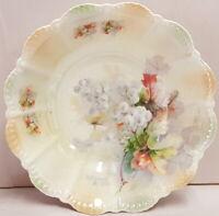 Vintage Porcelain Steinmann Tiefenfurt Selisia Lustre Scallop Edge Bowl c1932-38