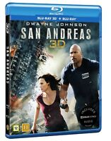 San Andreas 3D + 2D Blu Ray