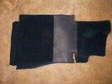 MERCEDES W123 Driver Side FLOOR CARPET BLUE Pad Cover Front Mat 300D 300TD