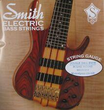KEN SMITH DB-RWM-6 DOUBLE BALL END BASS GUITAR STRINGS, MEDIUM 6's - 30-125