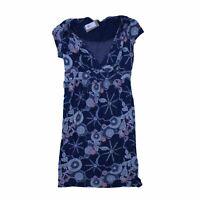 White Stuff Women's Midi Dress 14 Colour:  Blue