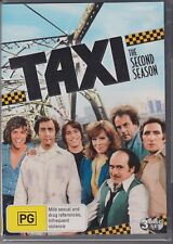 TAXI - THE SECOND SEASON on 3 DVD'S - 24 EPISODES - NEW SEALED  & FREE POSTAGE