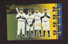 Bobby Korecky--2002 Michigan Wolverines Baseball Pocket Schedule