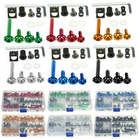 Assortiment 150pcs Fixations Clips Vis Boulon Carénage pour Honda Yamaha Suzuki