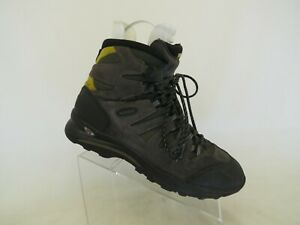 Lowa Gray Suede Laces Gore Tex Hiking Shoes Boots Mens Size 12 M
