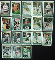 1990-91 Topps Hartford Whalers Team Set of 18 Hockey Cards