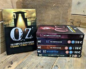 Oz - Series 1-6 - Complete (DVD, Box-Set Bundle) Prison Drama