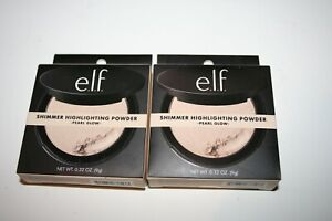 ELF e.l.f. Shimmer Highlighting Powder Pearl Glow (Lot of 2 - SEALED)